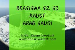 Fully Funded Beasiswa S2 S3 KAUST Arab Saudi 2020