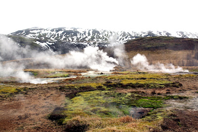 Steam vents in Iceland