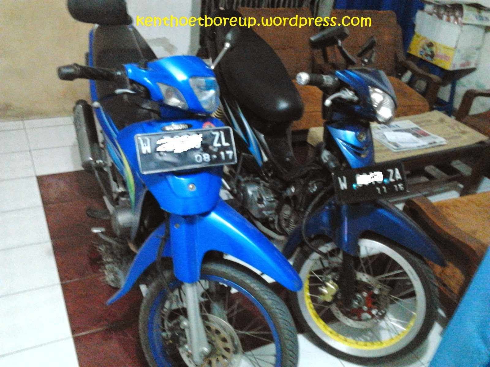 Suzuki Shogun Kebo Modifikasi