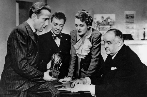 The Maltese Falcon from the movie