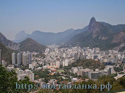Рио де Жанейро, Rio de Janeiro, Estátua do Cristo Redentor, КостаБланкаРФ, Статуя Христа, гора Корковадо, Corcovado, достопримечательности Рио де Жанейро