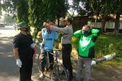 Personil Polsek Subang Gelar Operasi Aman Nusa II di Kelurahan Dangdeur