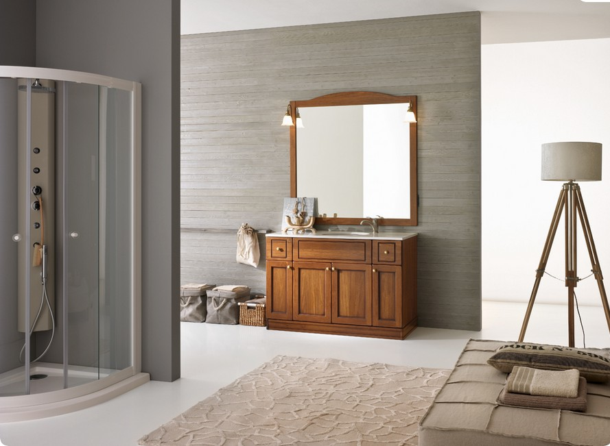 mobile da bagno classico modello COUNTRY cm. 140, disponibile in varie ...