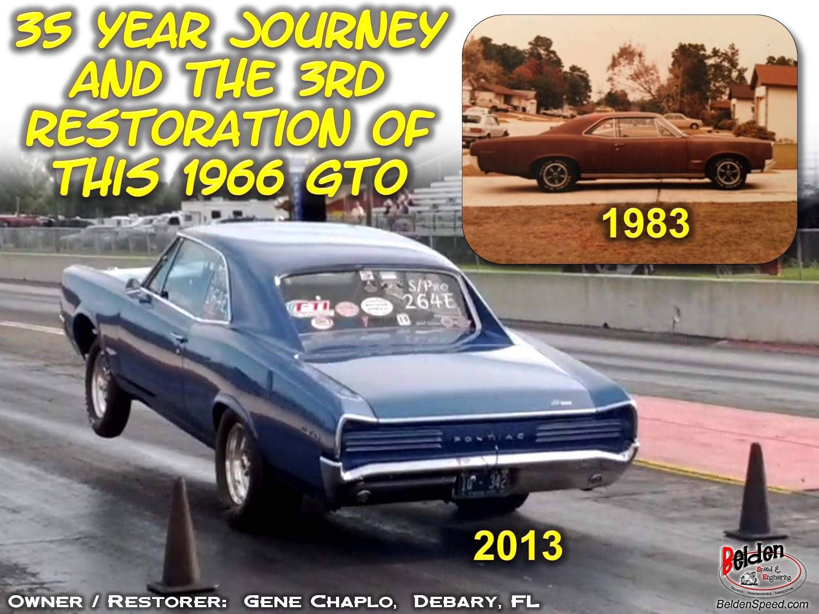 Customer Showcase - 1966 Pontiac GTO Rear Window Channel / Inner