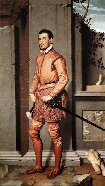 Giovanni Batista Moroni - The Gentleman in Pink