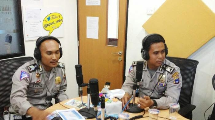 Laporkan Kejadian Jalan Raya ke Call Center Lantas Polresta Banjarmasin