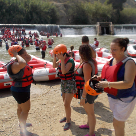 Descenso en Rafting 25/08/2018 (Primer Turno)