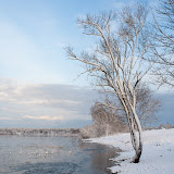 Первый снег на Сауса Даугава