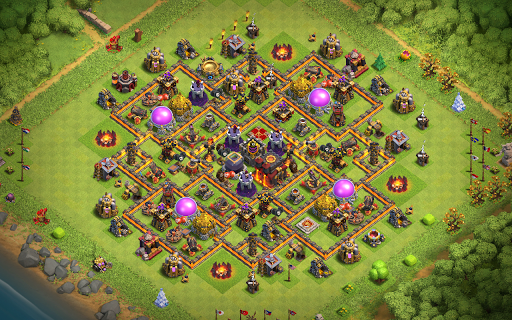Best Th10 Base Layout 2019 9