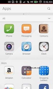 Ubuntu Touch home
