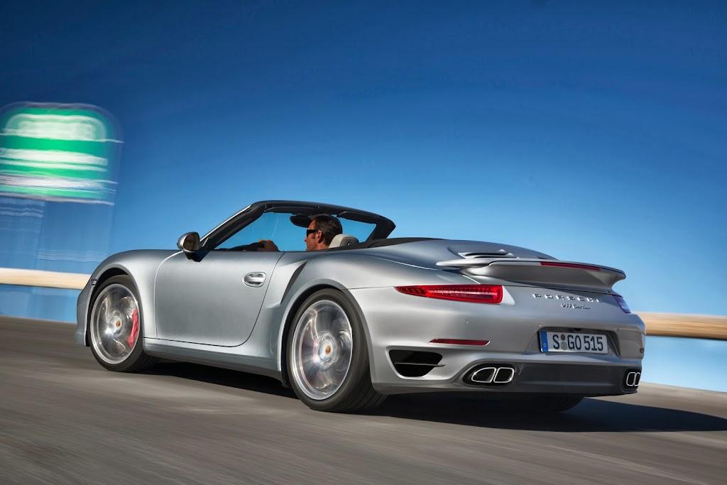 2014 Porsche 911 Turbo Cabriolet 4