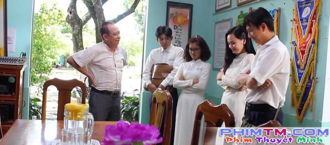 Miu Lê, Ngô Kiến Huy leo tường trốn học trong Cô gái đến từ hôm qua - Ảnh 8.