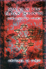 Cover of Michael Ford's Book Scales of the Black Serpent (Basic Qlippothic Magick)