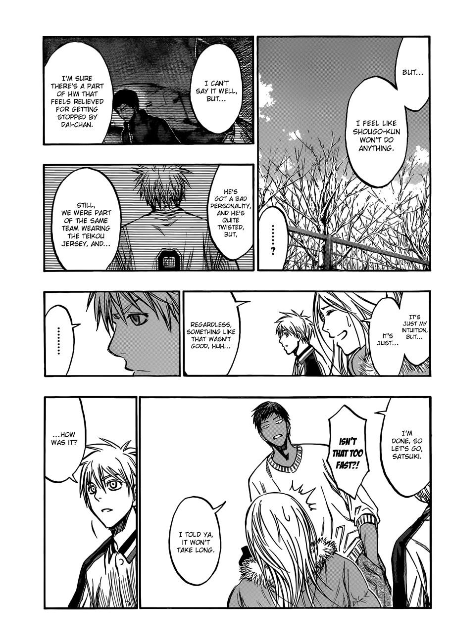 Kuroko no Basket Manga Chapter 174 - Image 13