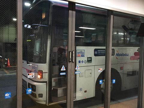 西日本鉄道「させぼ」 9717 博多BT到着