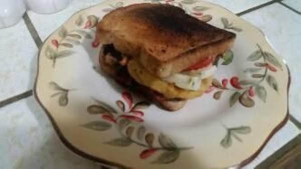 The Baconator Grilled Cheese Sandwich