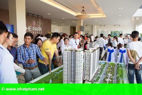 Hình 1: The Park Residence bán 190 căn hộ trong hai tuần