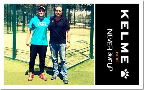 Kelme Pádel ficha al jugador WPT Jordi Muñoz Baixas para las próximas 3 temporadas.