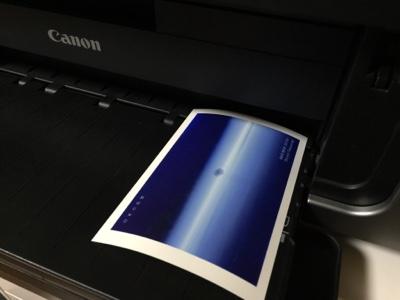 ハガキ印刷Canonのプリンタ