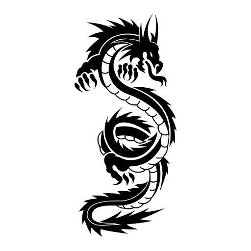 black dragon tattoos