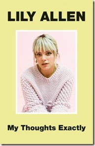 lily allen my thoughts exactly book cover