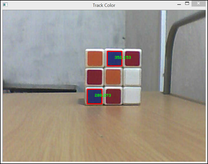 opencv deteccion de objeto por color