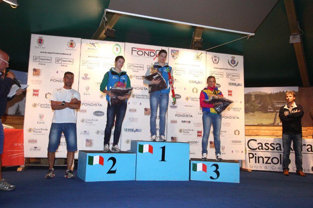 Coppa Italia sprint Pinzolo - il%2Bpodio%2Bsenior%2Bfemminile.JPG