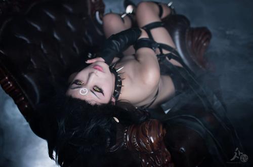 Ngắm cosplay Evelynn Bóng Đêm cực quyến rũ - Ảnh 6