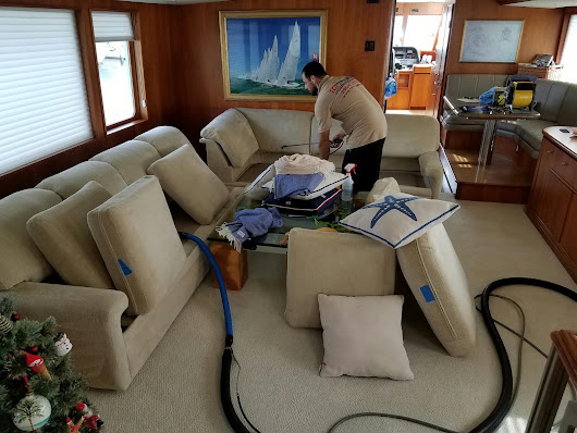 Yacht Carpet & Upholstery Cleaning 305-631-5757