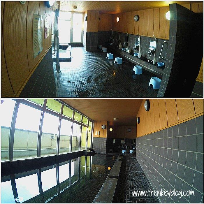 Fasilitas Onsen di Shin Imamiya Hotel - Osaka