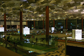 Check-in at Changi Airport