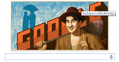 Google Doodle Celebrate Raj Kapoor 90th Birthday » SEOOFBLOG.COM