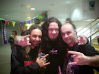 With Hamish, MY DYING BRIDE (UK) & Dino