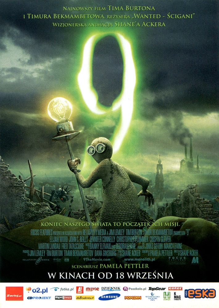Ulotka filmu '9 (przód)'