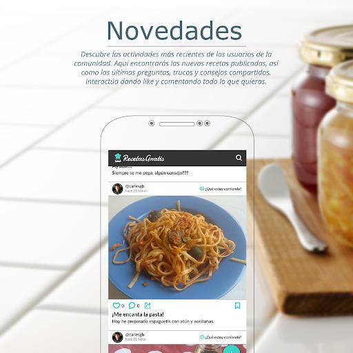 Recetas de cocina gratis u2013 Tu comunidad de cocina  screenshots 4
