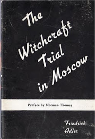 Cover of Friedrich Adler's Book The Witchcraft Trial in Moscow