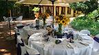Riverside Restaurant Patio - Bridal Shower Set Up