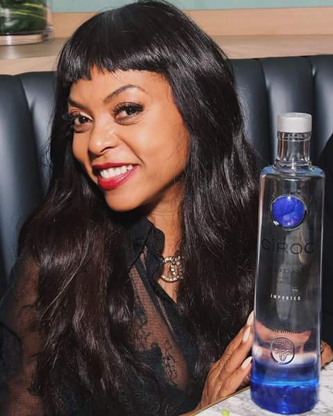 Taraji P. Henson with wine image for dp