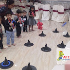 Halloween Carnival Celebrated by Playgroup Afternoon Section at Witty World, Chikoowadi (2017-18)