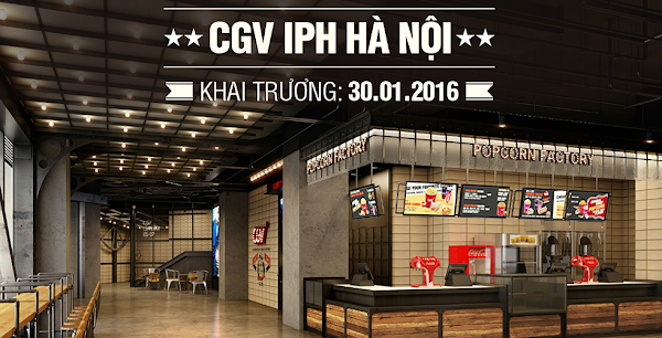 CGV IPH Hà Nội, cgv xuân thủy, iph hà nội, cgv iph
