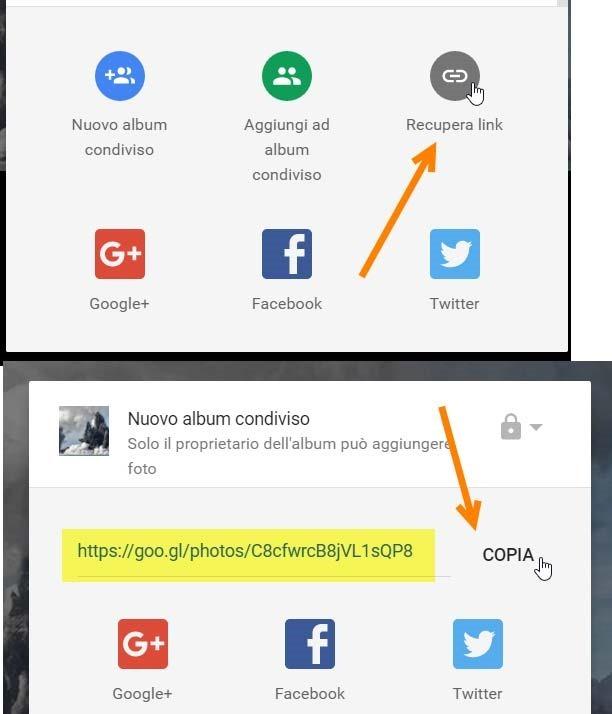 copiare-indirizzo-google-foto