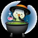 Pingüino Halloween - Hechicero