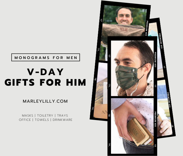 Valentine's Day Gifts for Him from Marleylilly.com Men's Gifts