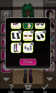 Click to Enlarge - Style Me Girl Level 26 - Hipster - Jenny - Closet