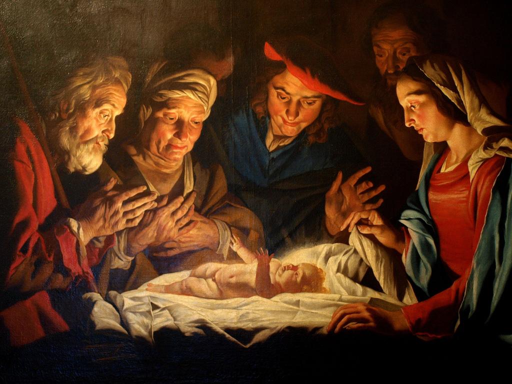 Matthias Stom - Adoration