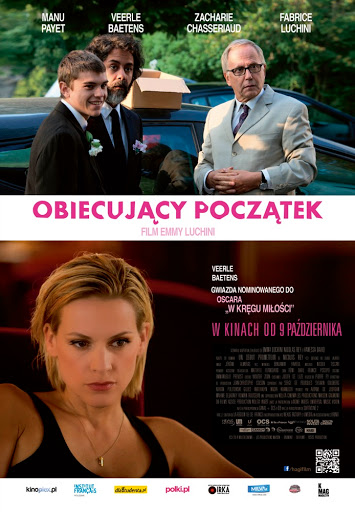 Polski plakat filmu 'Obiecujący Początek'