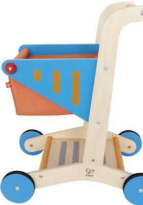 Xe đẩy siêu thị bằng gỗ Hape Shopping Cart