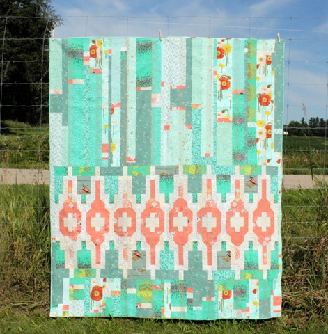 Lopspeysa Quilt by Kim Lapacek