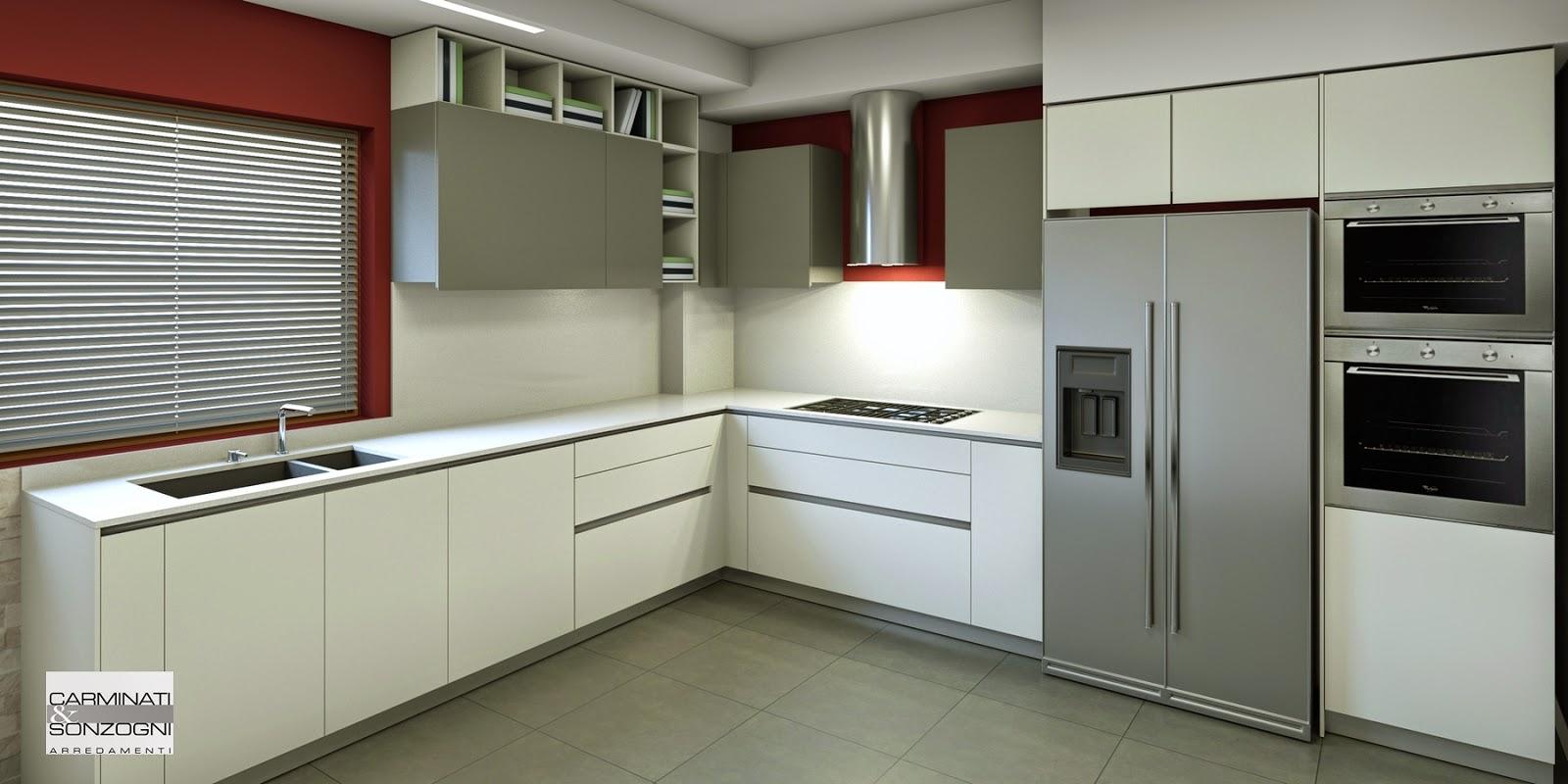 Cucine componibili con isola rosy una cucina classica funzionale disponibile in diversi colori - Classifica cucine ...