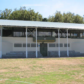 Victoria Park Cricket Pavillion, Auckland. The entire base of this building is coated with a two-pack Grafitti Resistant Coating.